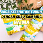 Jaga Kesehatan Tubuh dengan Susu Kambing Etawa Naima