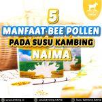 5 Manfaat Bee Pollen Pada Susu Kambing Naima