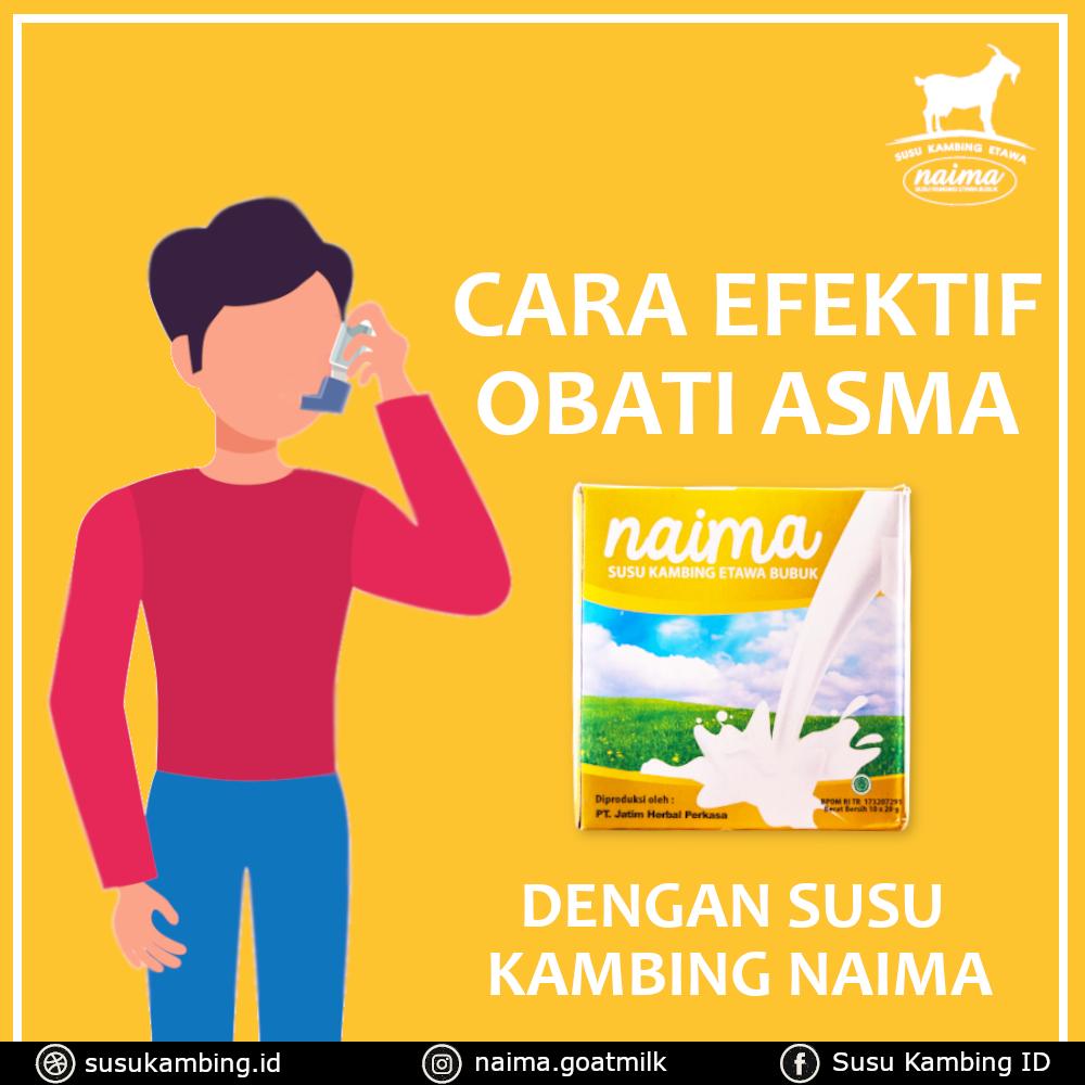 Cara Mengobati Asma - susukambing.id