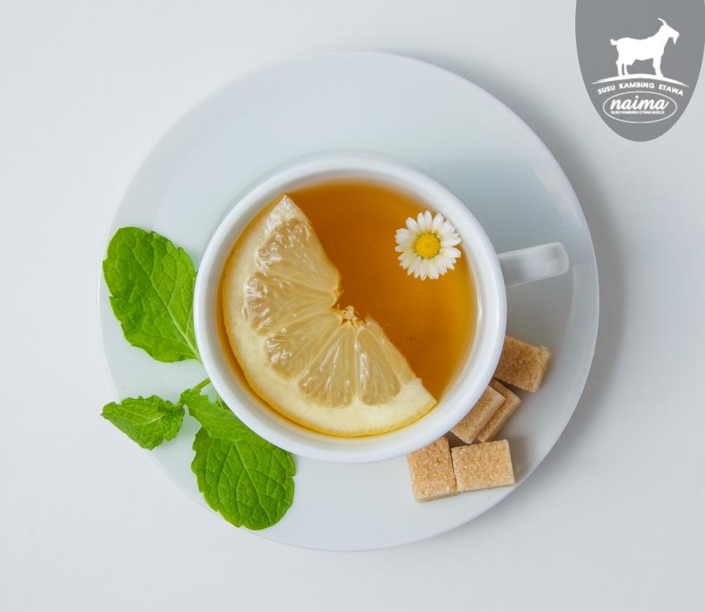 Cara untuk mengatasi stres - Herbs Tea [susukambing.id]