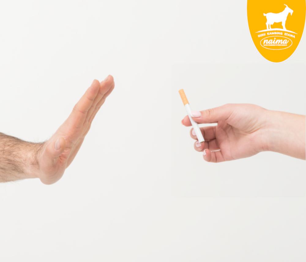 Cara Menjaga Kesehatan Jantung - Hindari Merokok [susukambing.id]