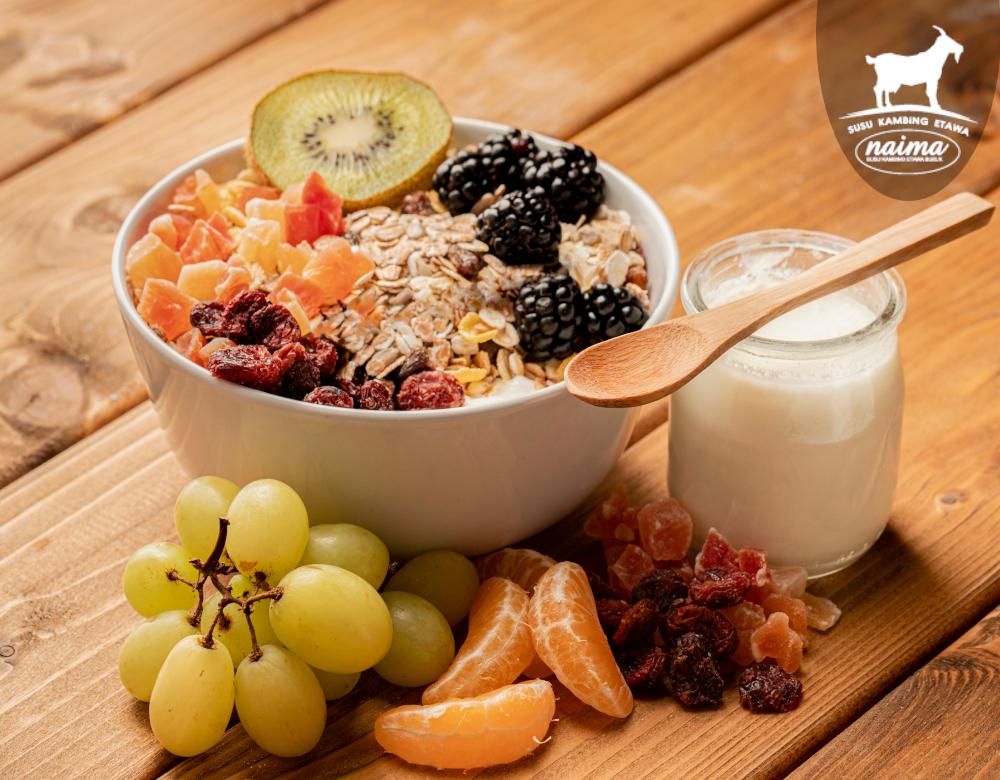 Makanan Sehat Untuk Anak - Kaya Akan Serat [susukambing.id]